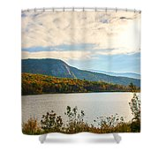 White Mountain Range Shower Curtain