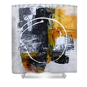White Out 3 Shower Curtain