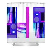 White Renew Shower Curtain