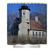 White River Light Shower Curtain