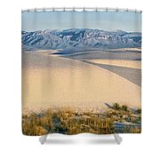 White Sands Morning #1 - New Mexico Shower Curtain
