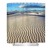 White Sands Of New Mexico Shower Curtain