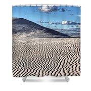 White Sands Patterns Shower Curtain