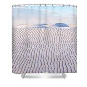 White Sands Serenity Shower Curtain