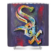 Chicago White Sox Baseball Shower Curtain