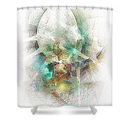 White Star 474-09-13 Marucii Shower Curtain