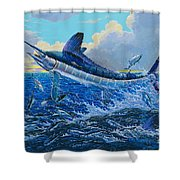 White Surprise Off0050 Shower Curtain