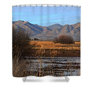 White Water Draw Preserve Shower Curtain
