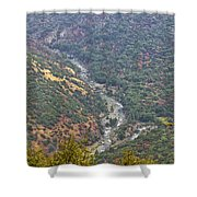 White Waters Shower Curtain