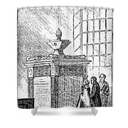 Whitefield Monument Shower Curtain