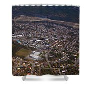 Whitehorse Riverdale Yukon Territory Canada Shower Curtain