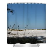 Whitesand Beach Shower Curtain