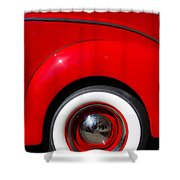 Whitewalls Two Shower Curtain
