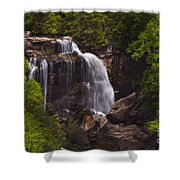 Whitewater Falls Nc Shower Curtain