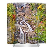 Whitewater Falls Vertical Shower Curtain