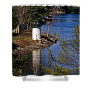 Whitlocks Mill Lighthouse Shower Curtain