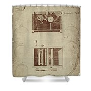 Whitney's Cotton Gin Shower Curtain