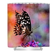 Who Dosen't Deam In Color? Shower Curtain