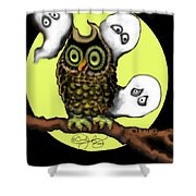 Who Says Boo Shower Curtain