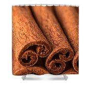 Whole Cinnamon Sticks  Shower Curtain