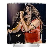 Whole Lotta Power Shower Curtain