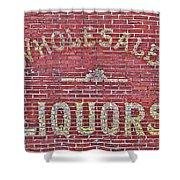 Wholesale Liquors Shower Curtain