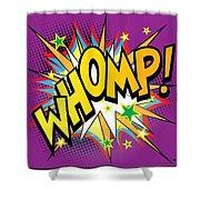 Whomp Shower Curtain