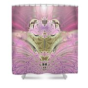 Whooos The Burden Shower Curtain