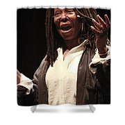 Whoopi Goldberg Shower Curtain