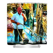 Who's Crazy Now? Shower Curtain