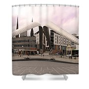 Whittle Arch Coventry Shower Curtain