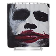 Why So Serious? Shower Curtain