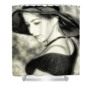Wiccan Lady Shower Curtain