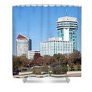 Wichita Skyline Shower Curtain