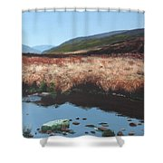 Wicklow Bogscape Shower Curtain