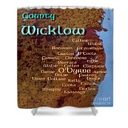 Wicklow Families Shower Curtain
