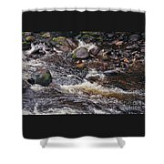 Wicklow River # 1 Shower Curtain