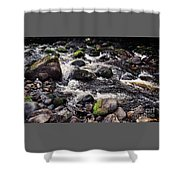 A River In The Wicklow Mountains, Ireland. Vision # 2 Shower Curtain