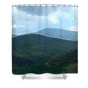 Wicklow Sleeping Giants Shower Curtain