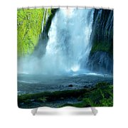 Wide Angle Shot Shower Curtain