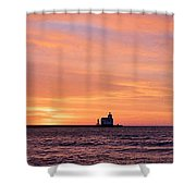 Wide Scene Format Shower Curtain
