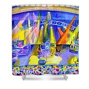 Widespread Panic Peabody Opera House Shower Curtain