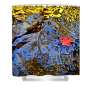 Wiggling Water Shower Curtain