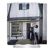 Wigmaker And Barber Shop Williamsburg Virginia Shower Curtain