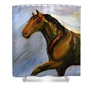 Wilbur Shower Curtain