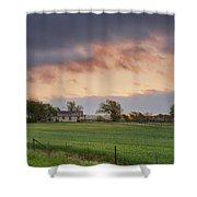 Wilco Sunrise Shower Curtain