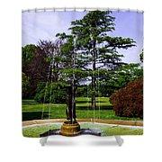 Wilcox Park Shower Curtain
