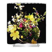 Wild And Beautiful Shower Curtain by Martin Howard