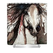 Wild Arabian Horse Shower Curtain
