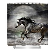 Wild As The Sea Shower Curtain